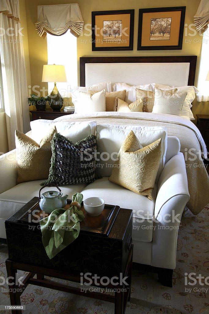 Bedroom Luxury royalty-free stock photo