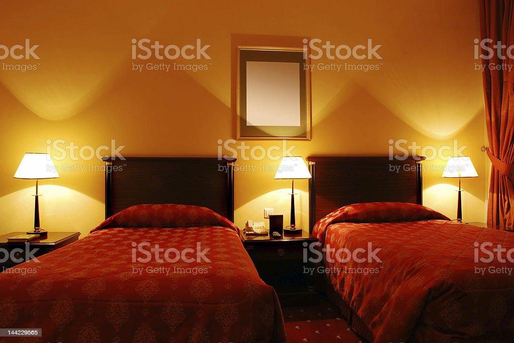 Bedroom royalty-free stock photo