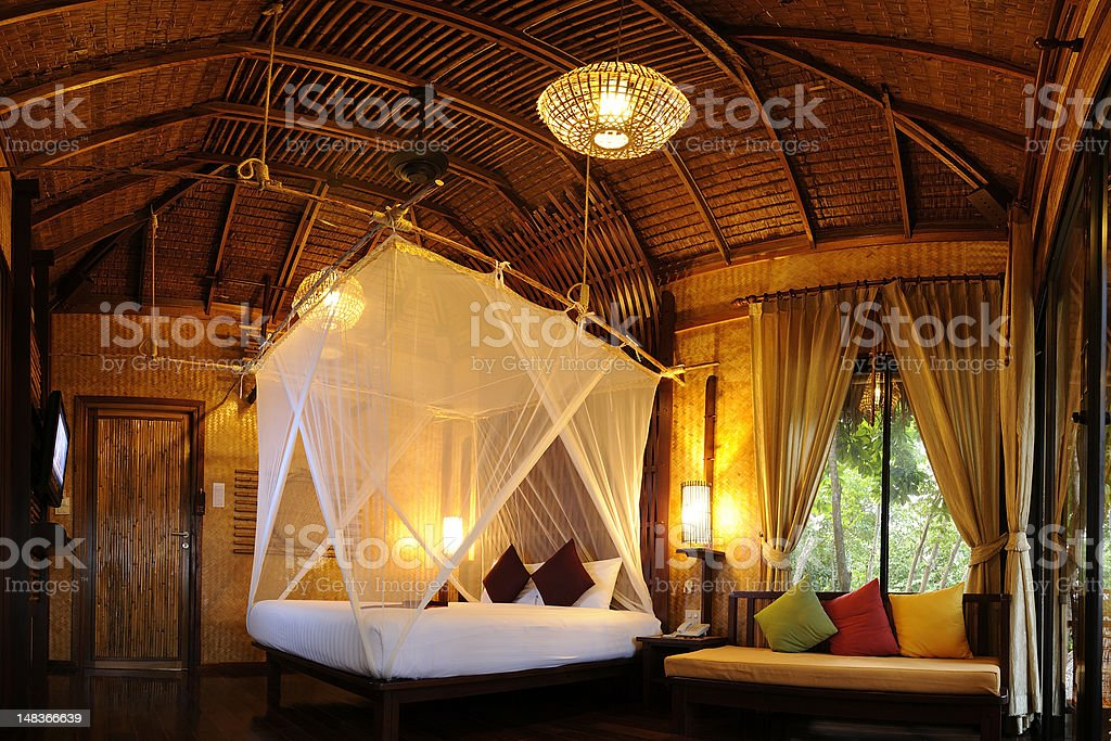 Bedroom. royalty-free stock photo