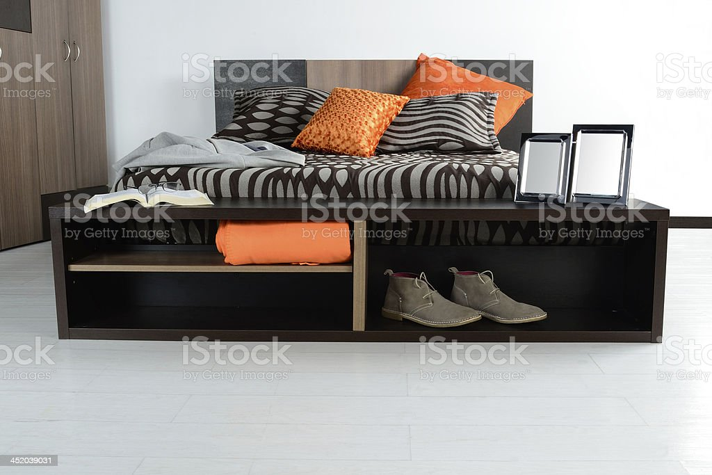 Bedroom. royalty-free stock photo