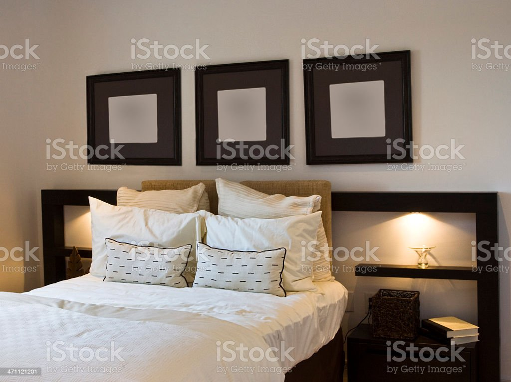 Bedroom royalty-free stock photo