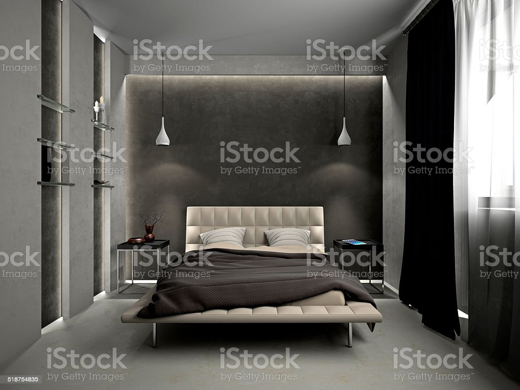 Schlafzimmer mit – Foto