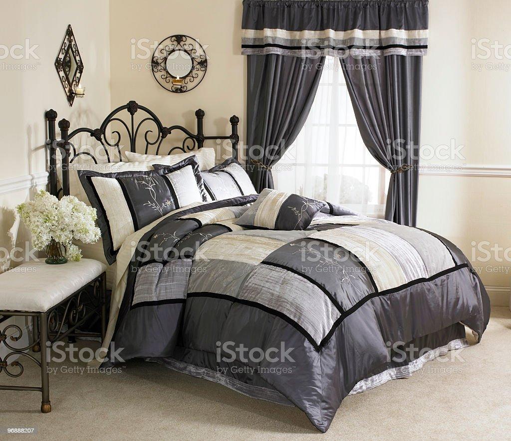 Bedroom Satin royalty-free stock photo