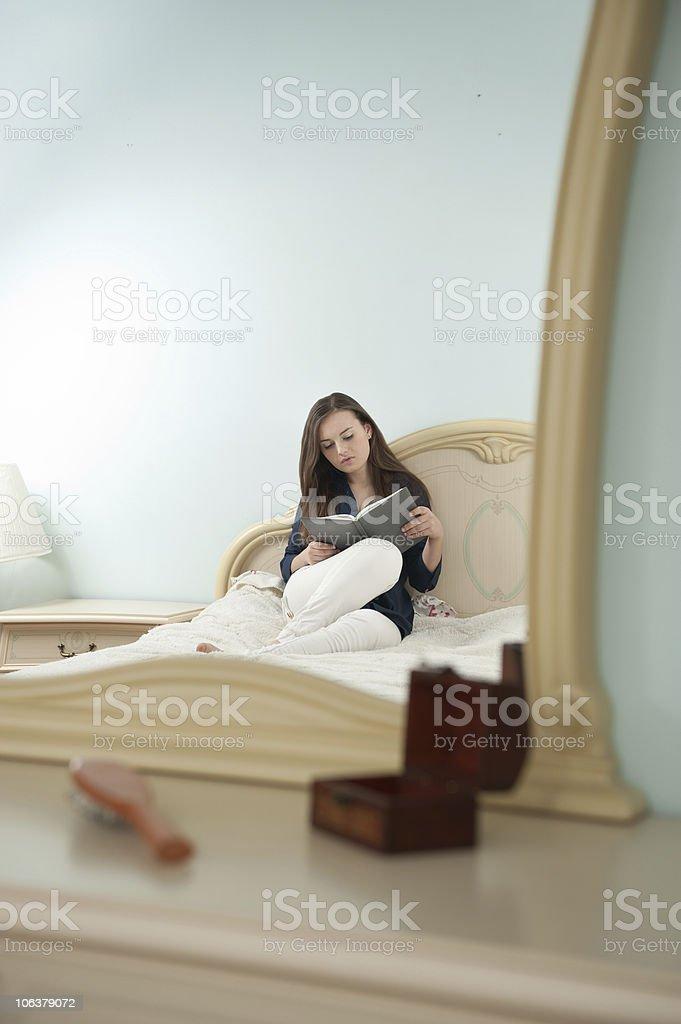 Bedroom study royalty-free stock photo
