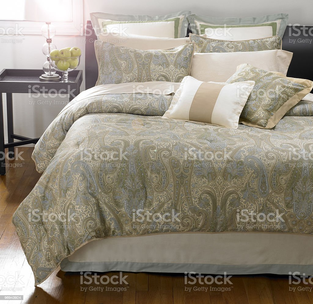 Bedroom Sunrise2 royalty-free stock photo