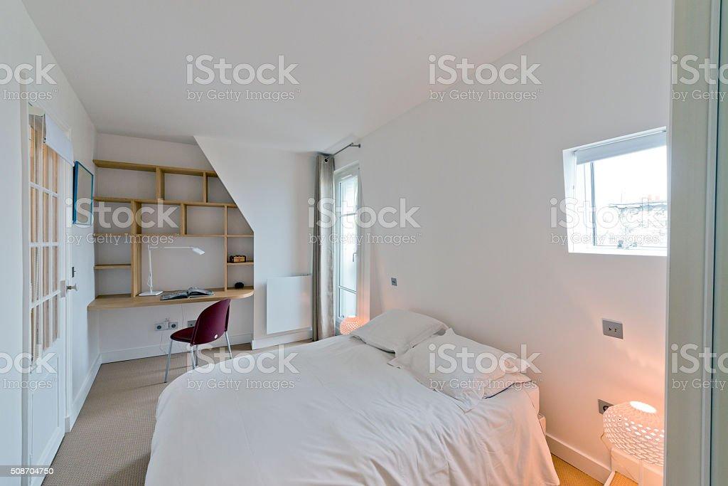 Schlafzimmer Garderobe Moderne Schlafzimmer Interior - Stockfoto ...