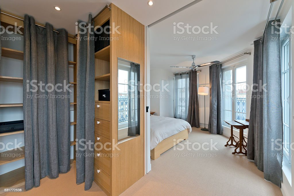 Schlafzimmer Garderobe Moderne Schlafzimmer Interior Stockfoto Und Mehr Bilder Von Architektur Istock