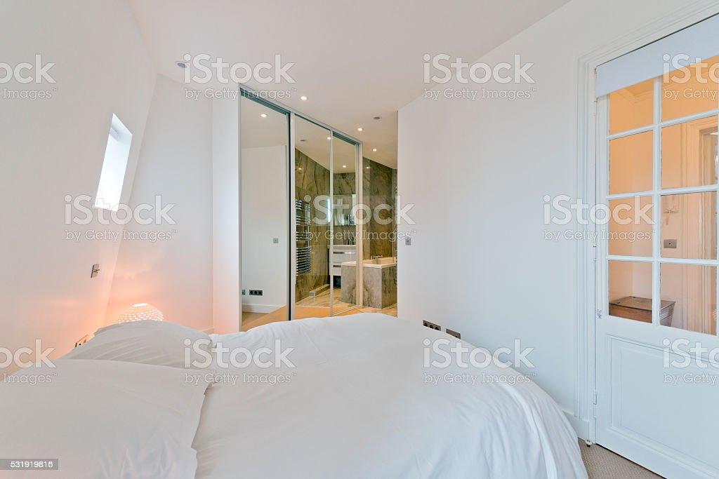 Schlafzimmer Garderobe Moderne Schlafzimmer Interior Stock ...