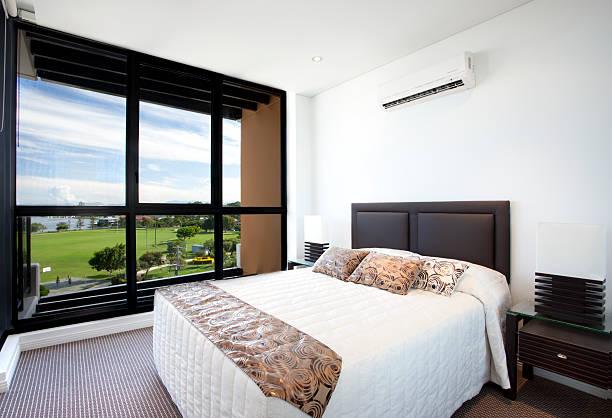 Schlafzimmer mit Ausblick – Foto