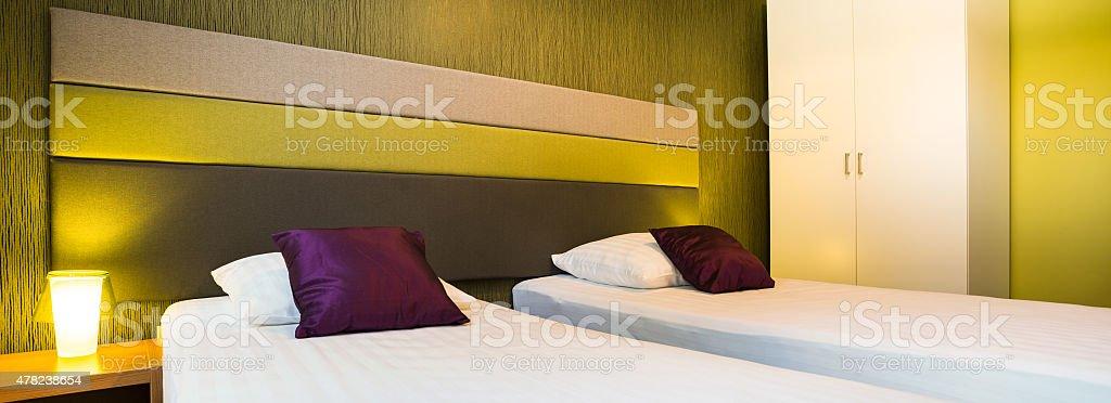 Schlafzimmer Mit Farbe Elemente Stockfoto und mehr Bilder von 2015 ...