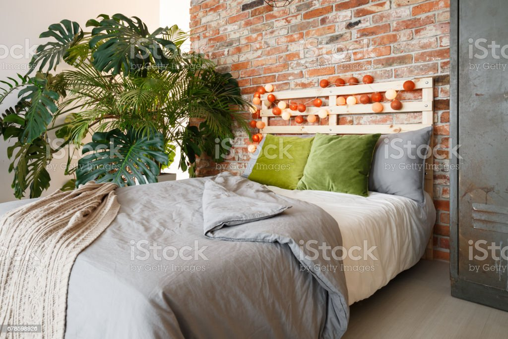 Bedroom With Monstera Stock Photo Download Image Now Istock