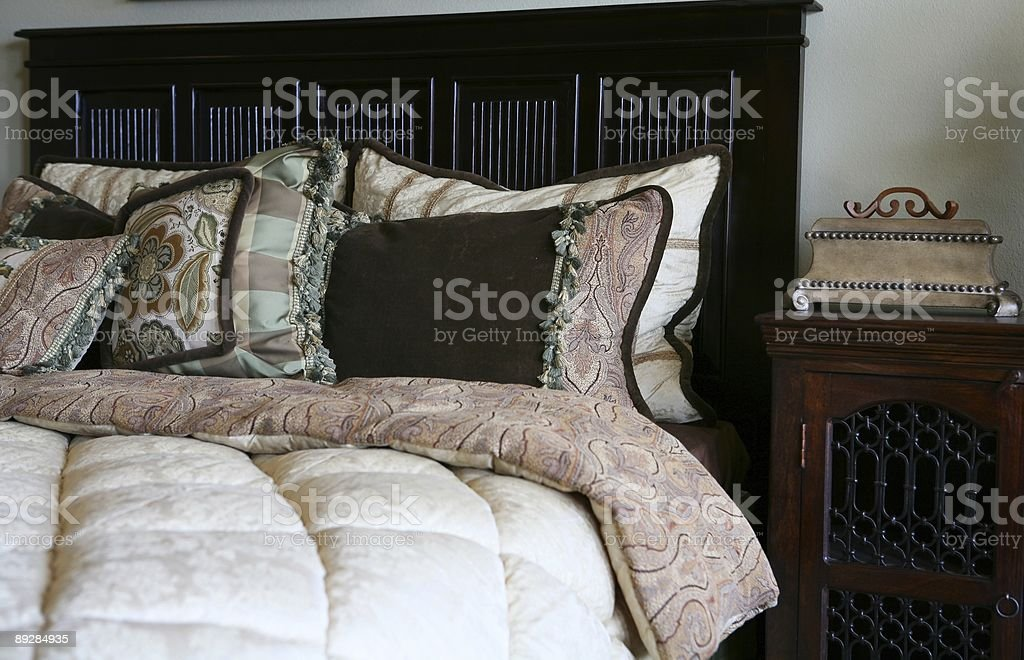 Bedrooms royalty-free stock photo