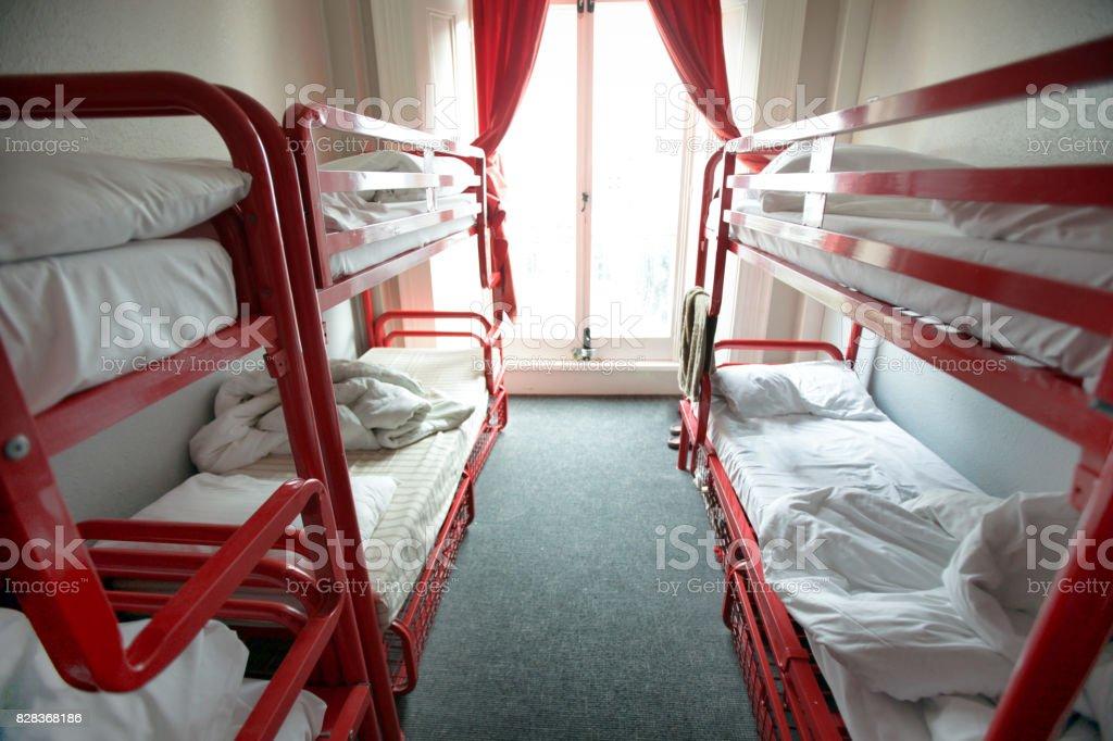 Lits en chambre Auberge - Photo