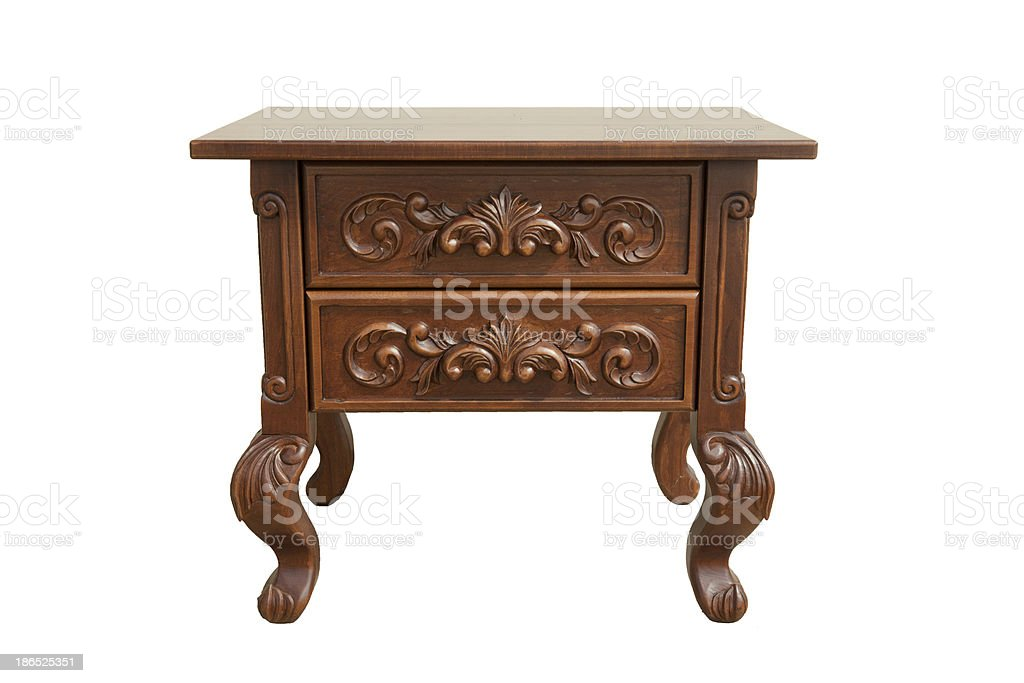 bedside table royalty-free stock photo