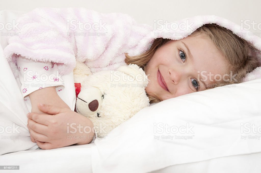 Bedtime royalty-free stock photo