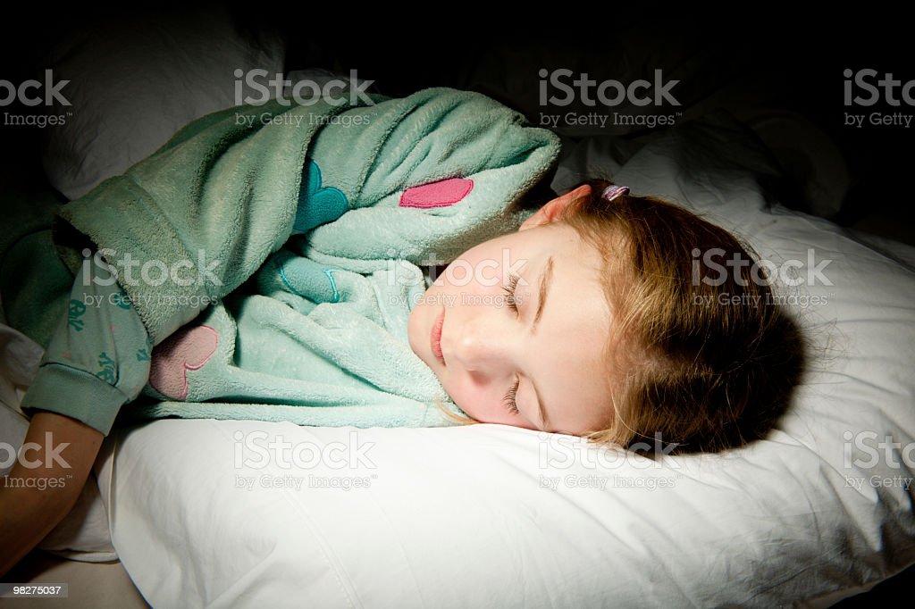 Ora di andare a dormire foto stock royalty-free