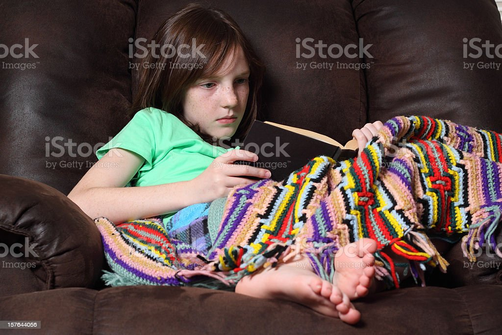 Bedtime Story stock photo