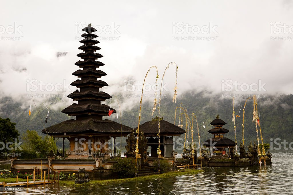 Bedugul Bali royalty-free stock photo