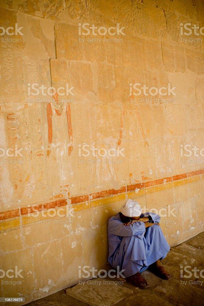 Beduins Break royalty-free stock photo