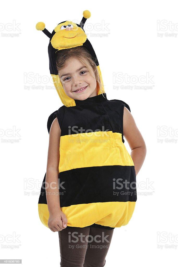 Bee costume stock photo