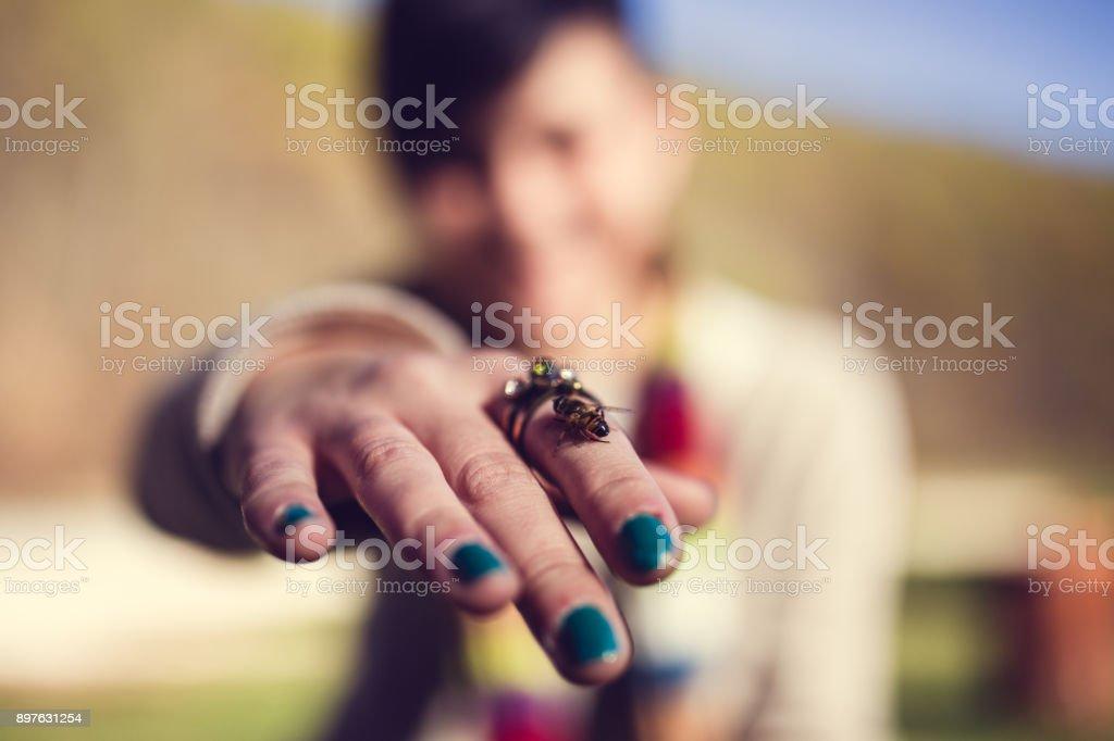 Bonne abeille - Photo