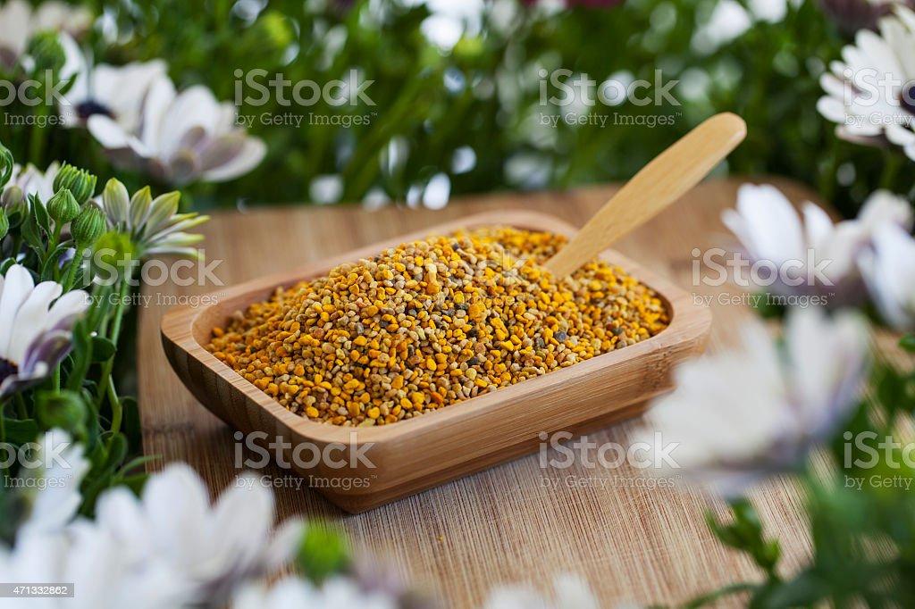 Bee Pollen stock photo