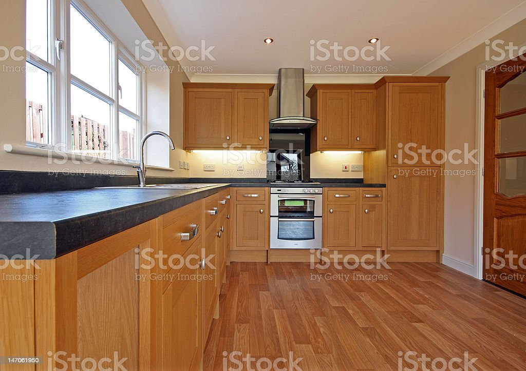 Beech Kitchen royalty-free stock photo