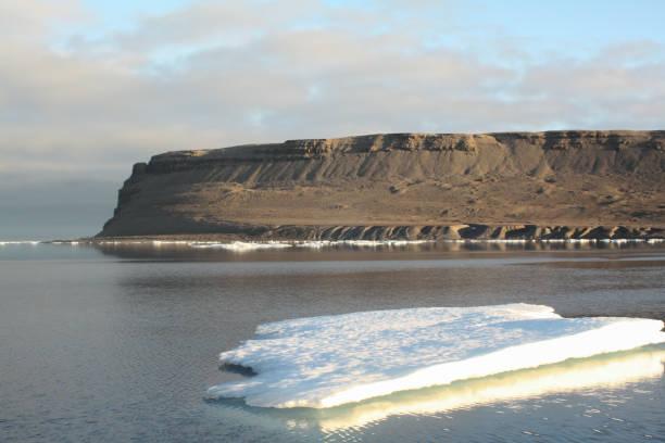 Beechey Island, Nunavut, Canada stock photo