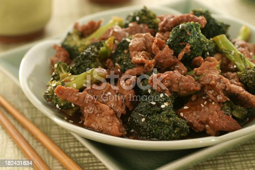 Another Chinese restaurant favorite: beef and broccoli!