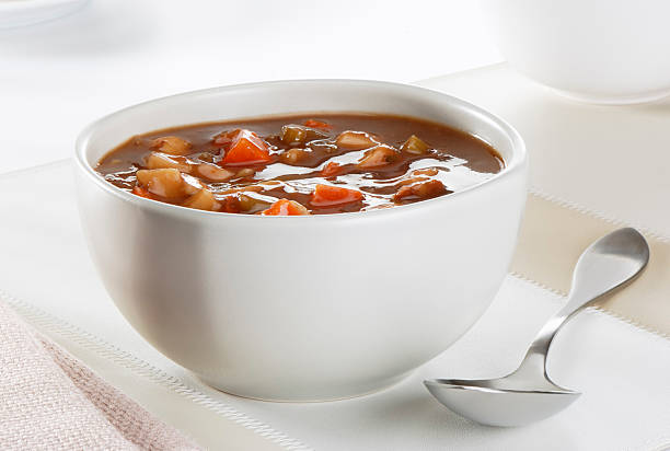 Beef and vegetables soup  pot au feu stock pictures, royalty-free photos & images