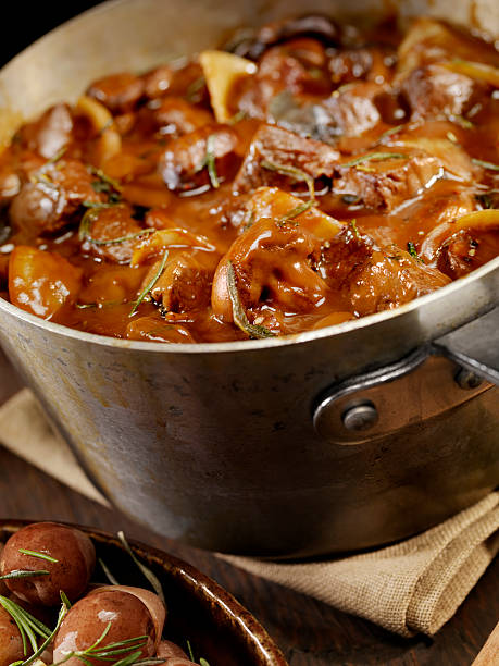 Beef Bourguignon  beef bourguignon stock pictures, royalty-free photos & images