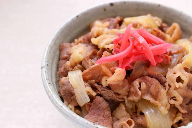 牛丼 - 丼物 ストックフォトと画像