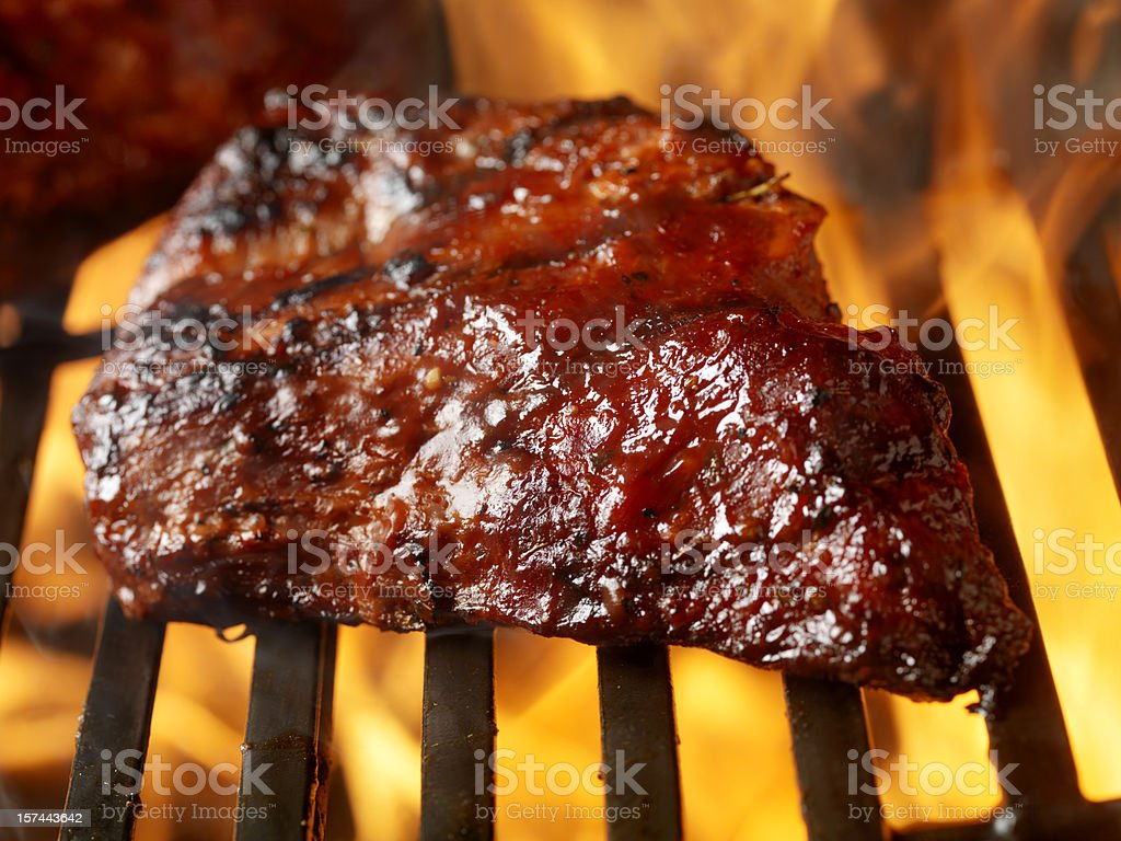 BBQ Beef Brisket royalty-free stock photo
