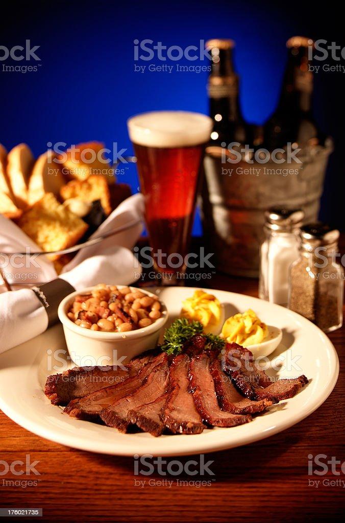 Beef Brisket royalty-free stock photo