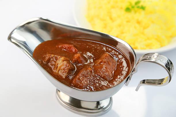 Curry und Reis – Foto