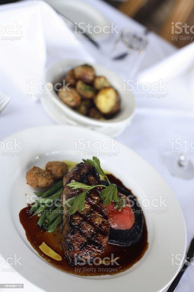 Beef Dish royalty-free stock photo