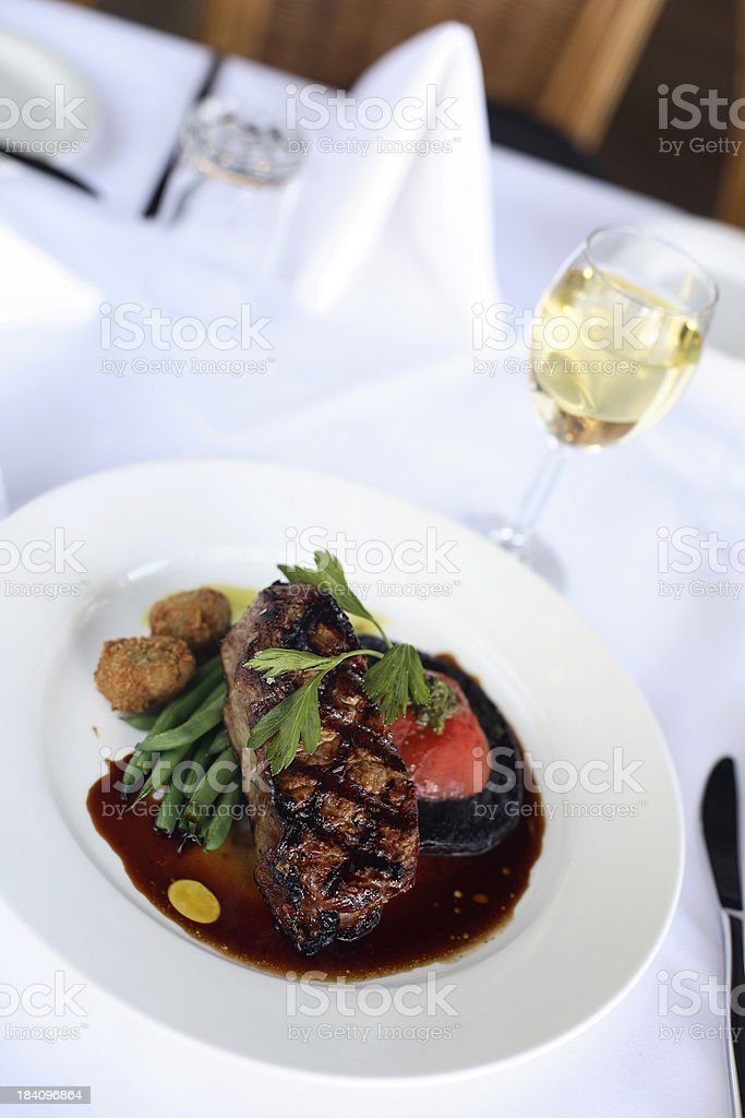 Beef Dish royalty-free stock photo