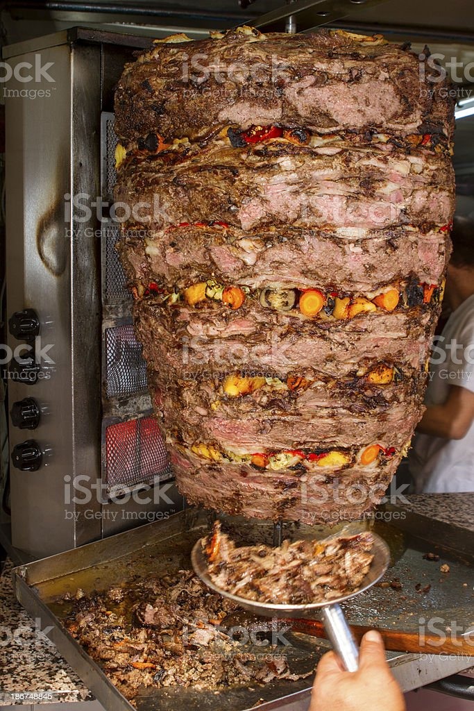 Beef Doner Kebab stock photo