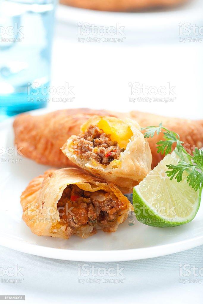 Beef Empanada stock photo