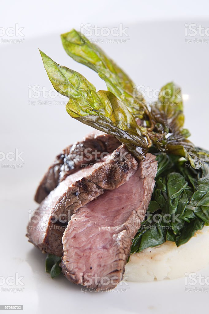 Beef Fillet dish royalty-free stock photo