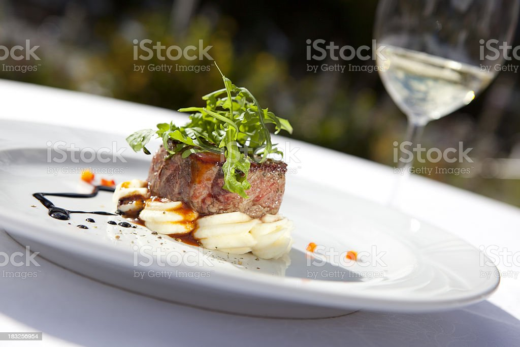 Beef fillet royalty-free stock photo
