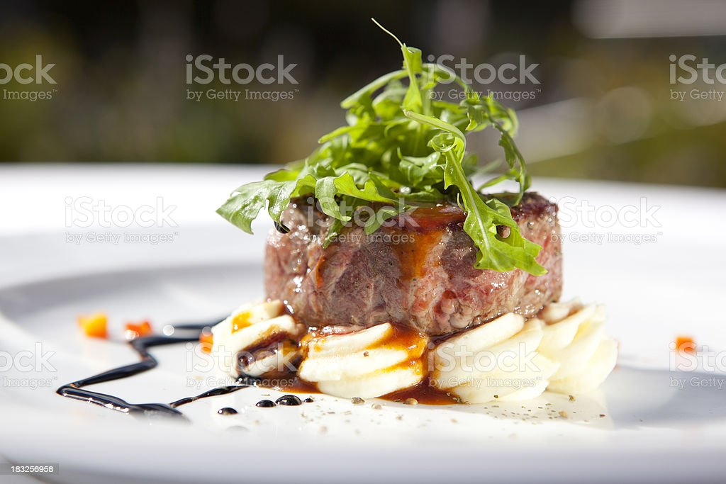 Beef fillet stock photo