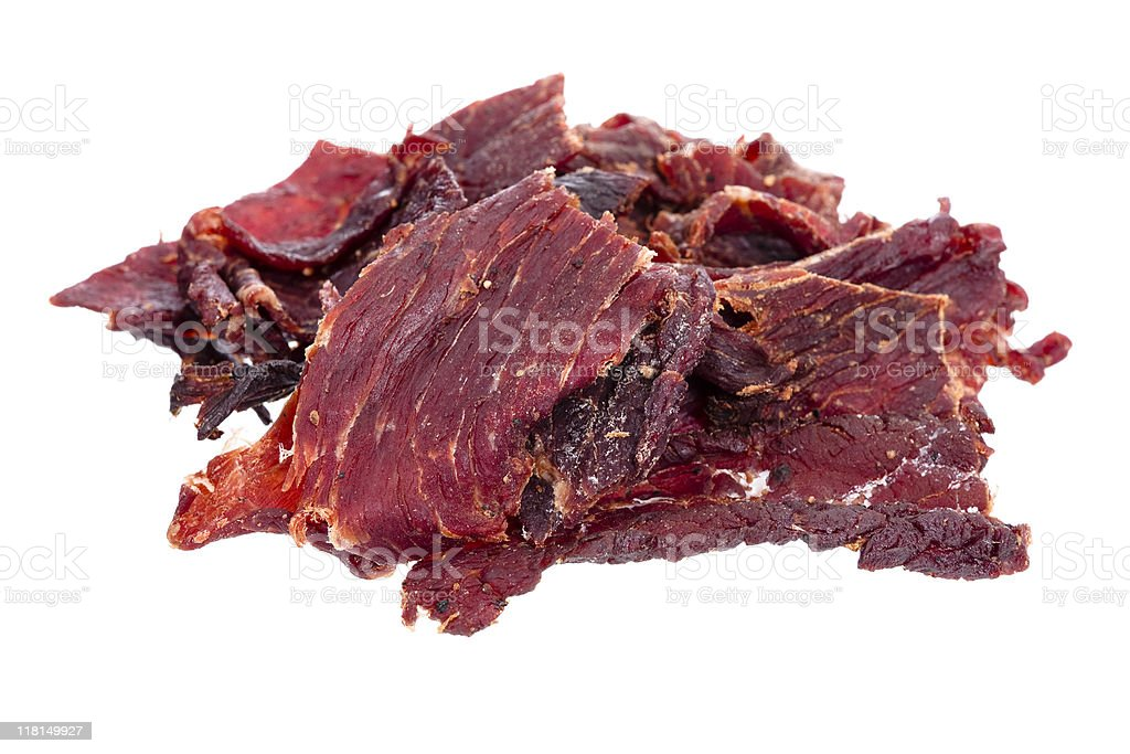 Beef Jerky stock photo