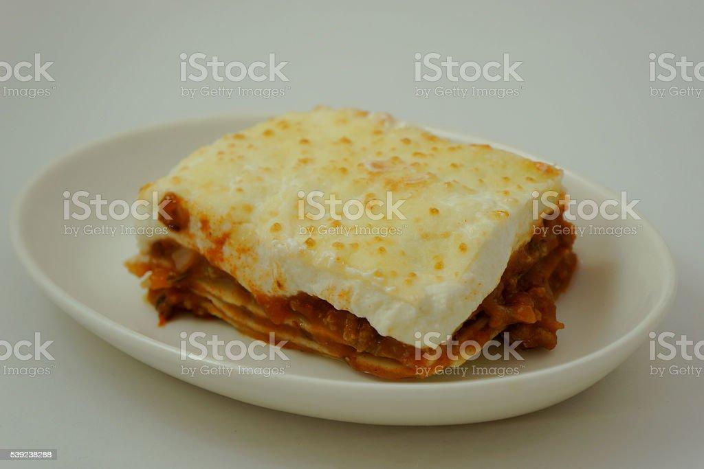 Beef Lasagne royalty-free stock photo
