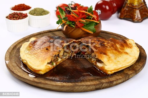 istock Beef meat quesadillas 843640446