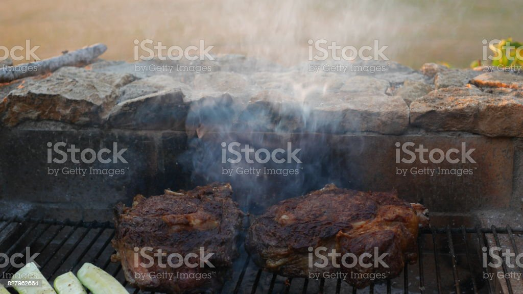 cotes de boeuf stock photo