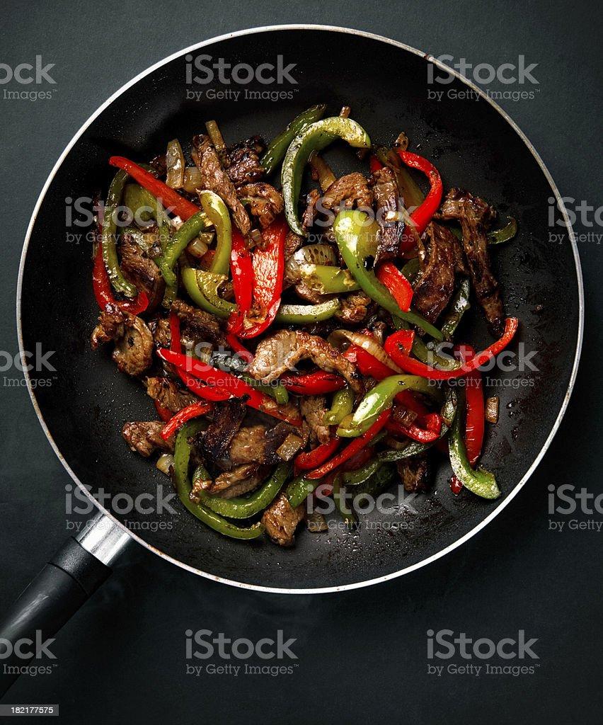 beef or carnitas stock photo