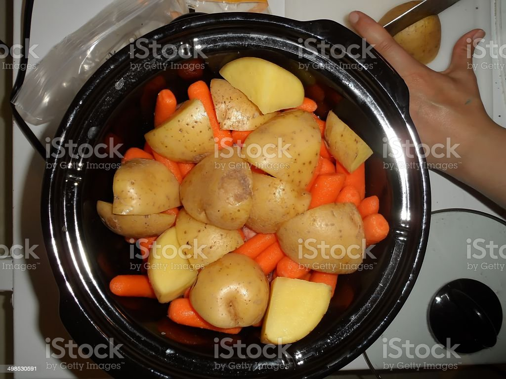 Beef Pot Roast royalty-free stock photo