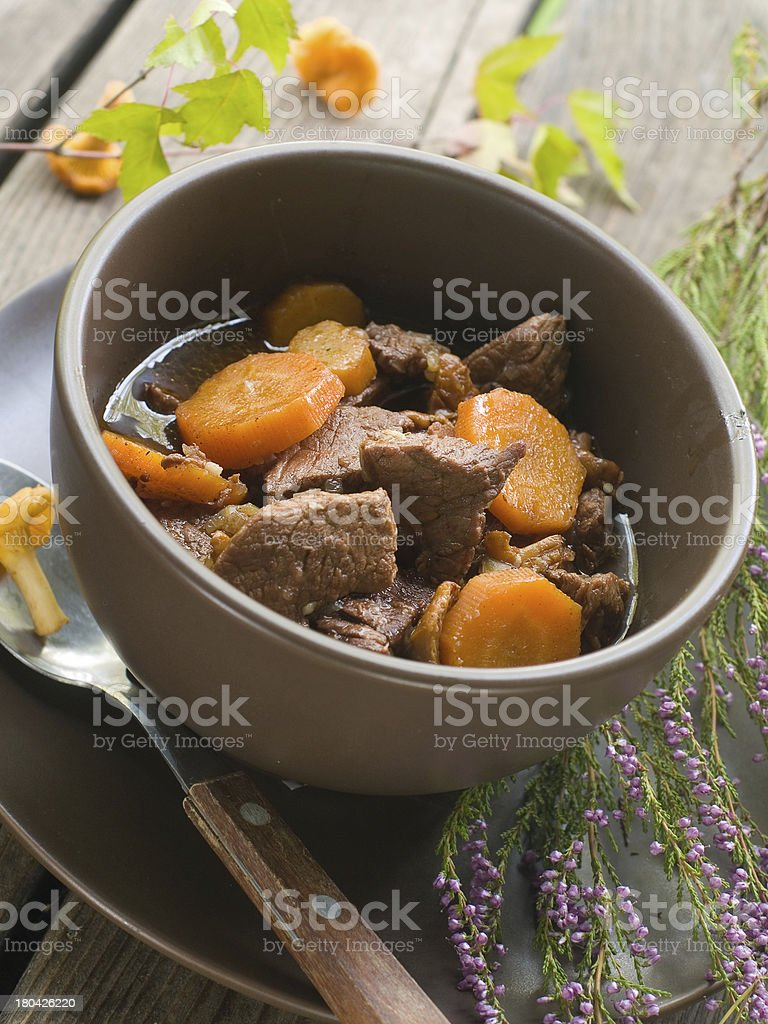 Beef ragout royalty-free stock photo