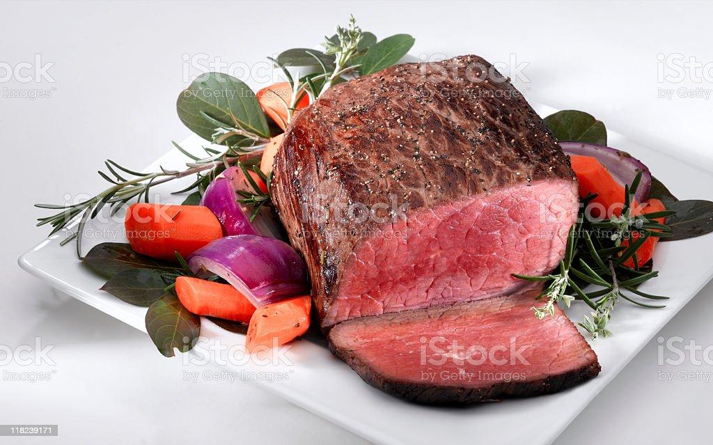 Beef Roast stock photo